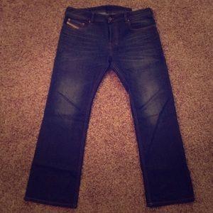 Diesel Zatiny blue jeans size 33x30 like new